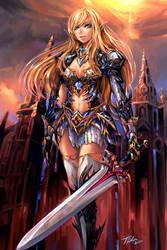 Vigilante of Knights Errant by Pearlpencil