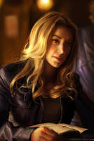 Photo refs studying - Zoie Palmer by Pearlpencil