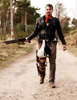 Zac - The post apocalypstic wastelander by iSeptem