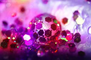 Glitter drop III by beatqas