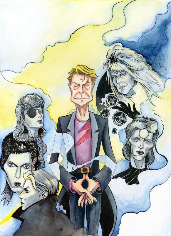 Bowie Tribute by jojo-kun