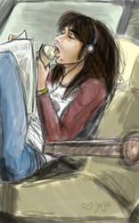 Steve Perry eating ice cream by jojo-kun