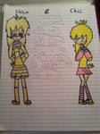 Chica and Chic by HuskyRBTorchick