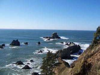 West Coast Shoreline by iamtheriddler
