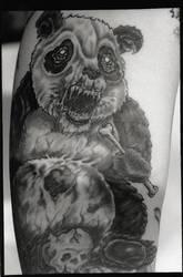 Zombie Panda by iamtheriddler