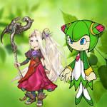 My 2 favorite Nature Lovers by Darkmegafan01