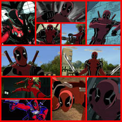 AT: Deadpool collage by Darkmegafan01