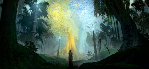 Silmarillion - Two Trees of Valinor by Niahti