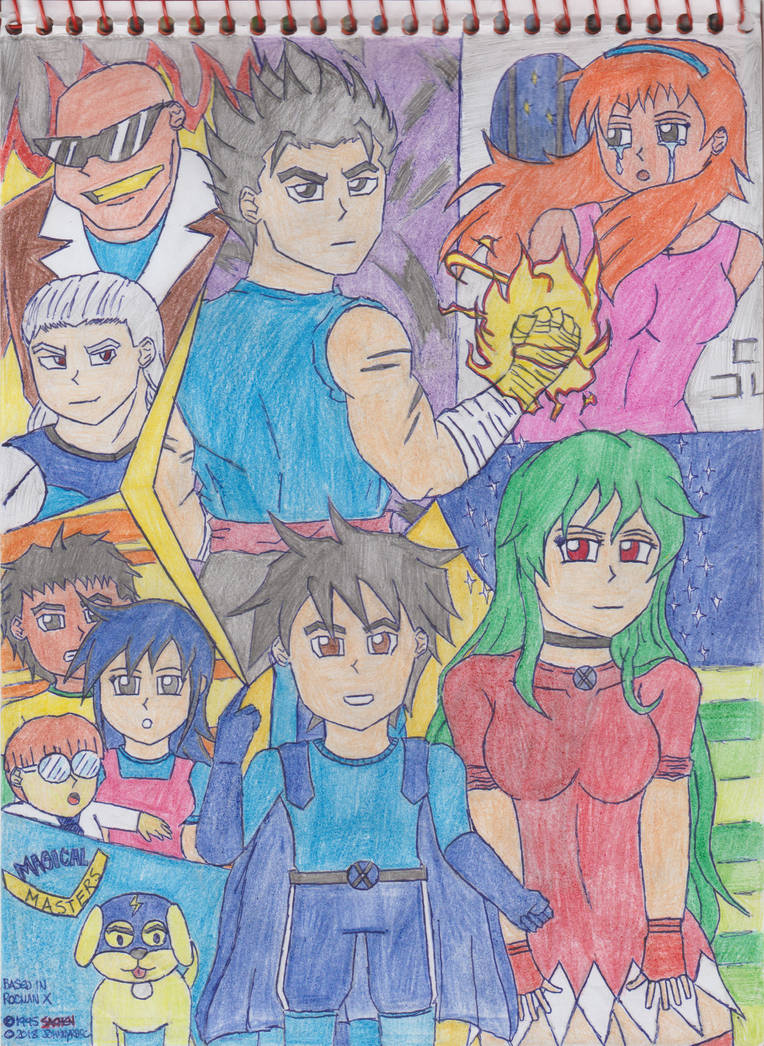 Magical Masters (based in Rocman X) by JohnnyRBFC