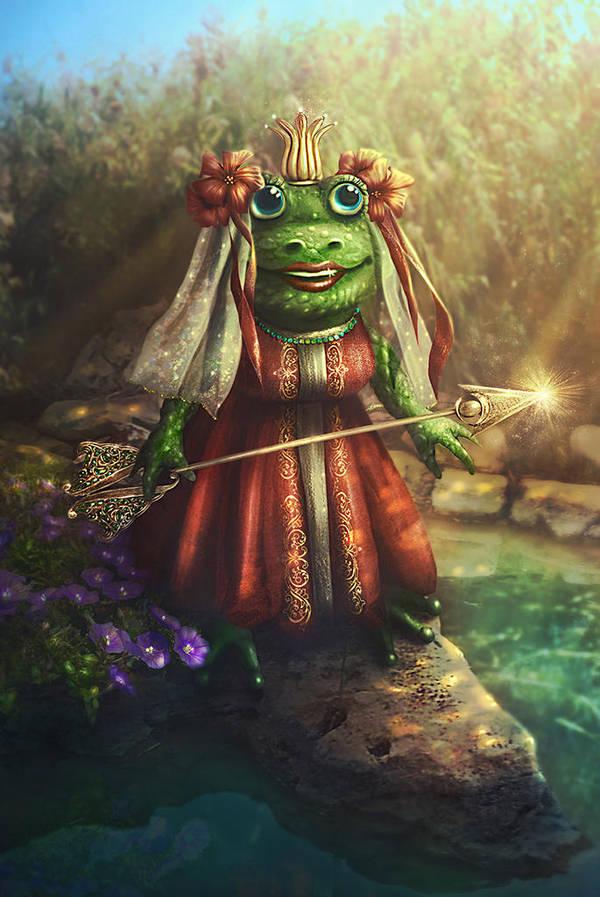 Tsarevna Frog by Incantata