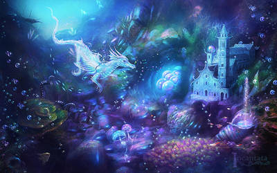 Water Dragon Kingdom by Incantata