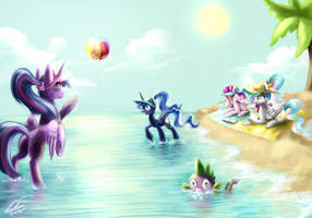 Princess beach by YummiestSeven65
