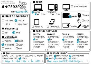 #Myworkspace by YummiestSeven65