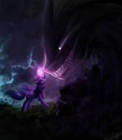 I do not fear you, Stygian! by YummiestSeven65