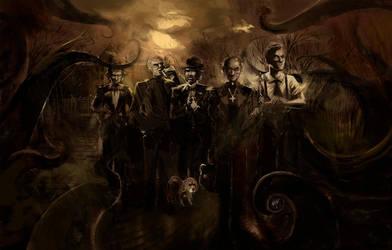 Call of Cthulhu 1- O misterio de William Faraday by mude