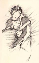 Cuddles by Wunderknodel