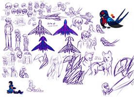 Sketchbook 2 by MoonRayCZ