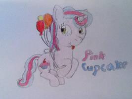 Pink Cupcake by SpeedingFox