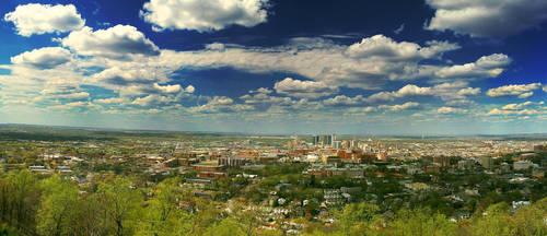 Birmingham Panorama by TMPhotographia