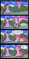 'Pinkie Being Pinkie' by Scyphi