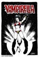 Vampirella, a quick study by SteveChanks