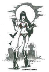 More Vampirella Quickies by SteveChanks