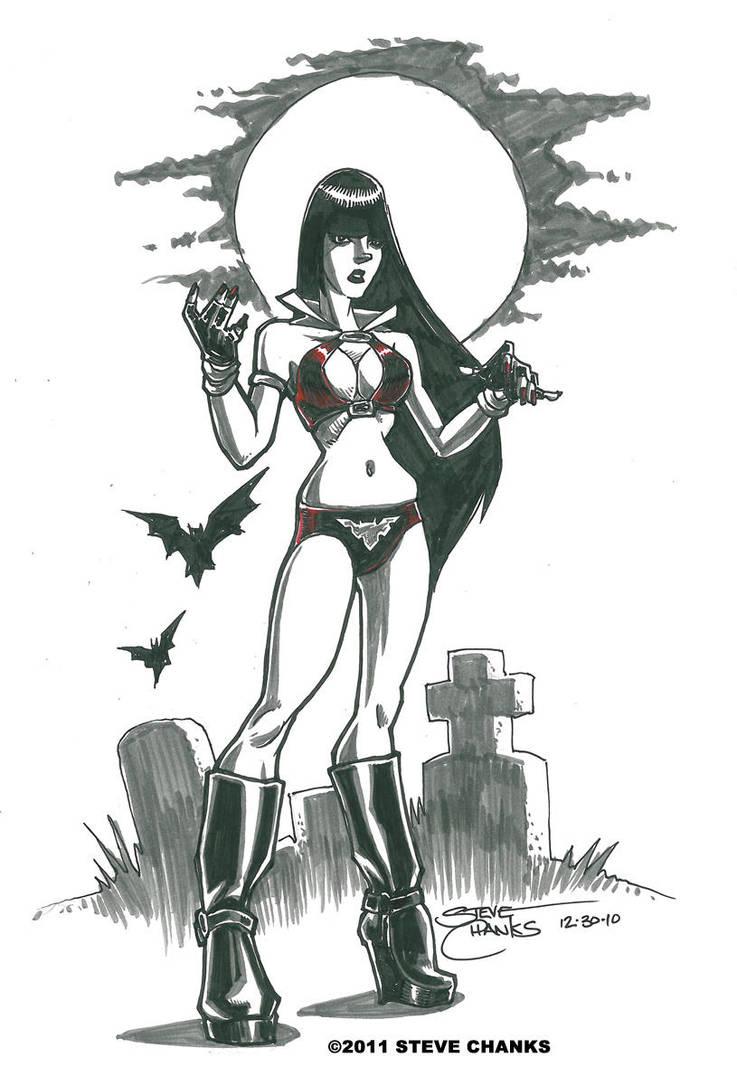 More Vampirella Quickies by SteveChanks