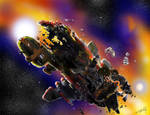 Space Wreck by ARMORMAN