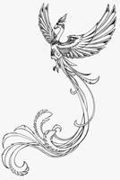 Phoenix Tattoo by Larutanrepus