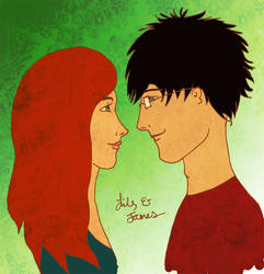 :james and lily: by solemnlyswear22