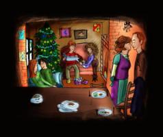 a weasley christmas by solemnlyswear22