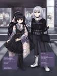 Sana and Mako by pinkstrawberrytea