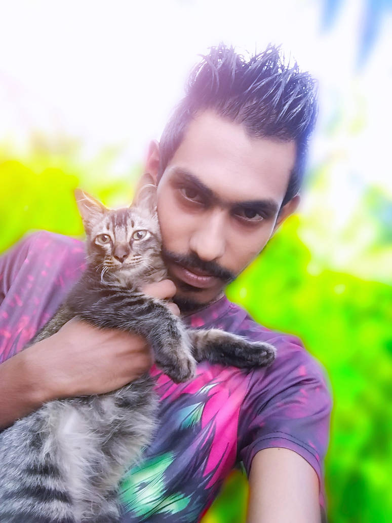My Kitten by Tilantha-hansanath