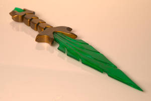 Elder Scrolls Inspired - Glass Dagger by PaulBoyd