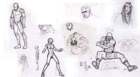 Sketch work by pyrochad