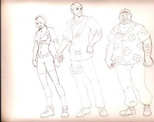 cartoon spy team by pyrochad