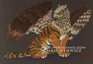 tiger gryphon by pyrochad
