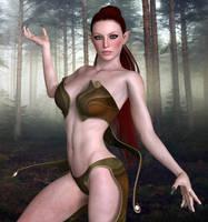 Forest Elf by Midniyt
