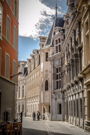 French old street 4 by III-HATHOR-III