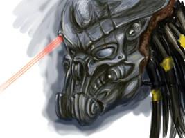 Celtic Predator Bio-Helmet by ButtZilla