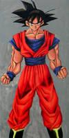 Goku by ButtZilla