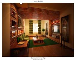 Living Room V2 by Semsa