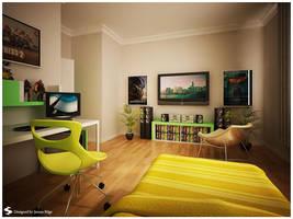 Teen Room 2 by Semsa