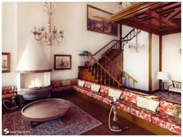 Istanbul Palace Interior 4 by Semsa