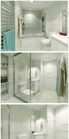 Istanbul House - Bathroom 3 by Semsa