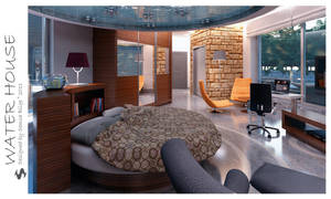 Water House - Bed and Bath 3 by Semsa