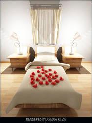 Bedroom-Night 13092006 by Semsa