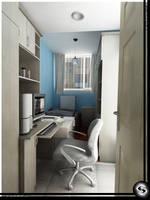 Small Bedroom by Semsa
