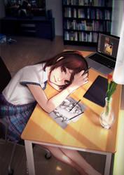 Teach me how to draw, sensei! by profdaredevil
