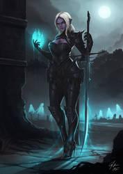 Necromancer by CJ-Backman